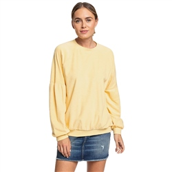 Roxy Palm Trees Sway Sweatshirt - Sahara Sun