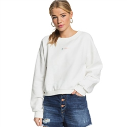 Roxy Sunset Session Sweatshirt - Snow White