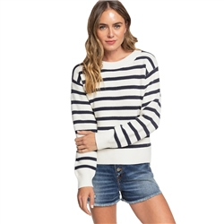Roxy Deep Honey Jumper - Snow White