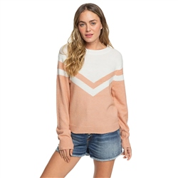 Roxy Requiem Mood Jumper - Cafe Creme
