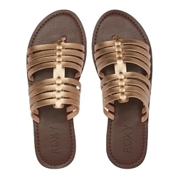 Roxy Tia Sandals - Bronze