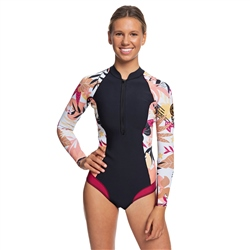 Roxy Popsurf 1.5mm Spring Suit - Black & Ter (2020)