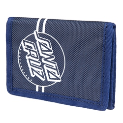 Santa Cruz Opus Dot Wallet - Navy