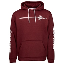 Santa Cruz Opus Dot Hoody - Wine