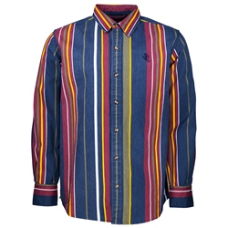 Santa Cruz 2nd Hand Shirt - Navy Stripe