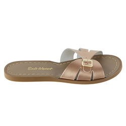 Salt-Water Classic Slide Sandals - Rose Gold