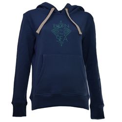Born by the Sea Born By Hoody - Navy