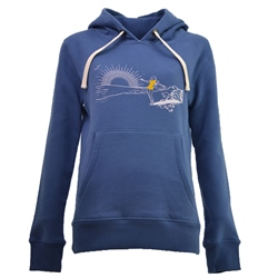 Born by the Sea Surf Chic Hoody - Navy