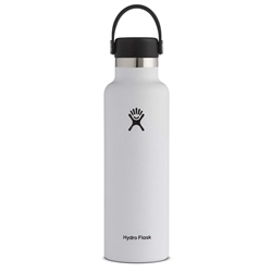 Hydro Flask Standard 21 Oz Bottle - White