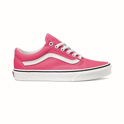 Vans Old Skool Shoes - Pink & White
