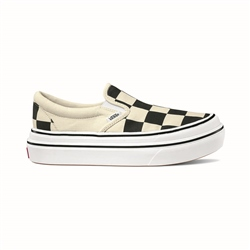 Vans Super Comfy Slip On - Black & White