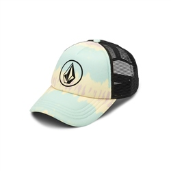 Volcom Into Paradise Trucker - Blue & Yellow