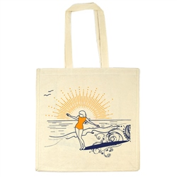 ACS Clothing AC Surfgirl Shoppers Bag - Natural