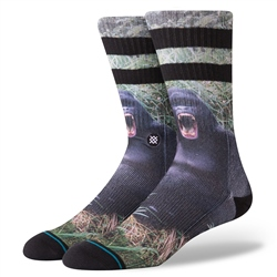 Stance Gorilla Socks - Black