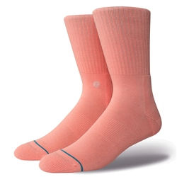 Stance Icon Socks - Pastel Pink