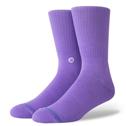 Stance Icon Socks - Violet