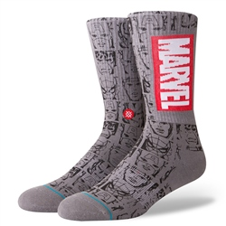 Stance Marvel Socks - Grey