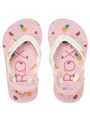 Roxy Girls Pebbles VI Flip Flops - Pink