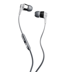 Skullcandy Ink'D 2 Earbuds with Mic - Street Grey