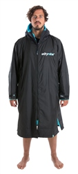 Dryrobe Small Long Sleeved Dryrobe - Black & Blue