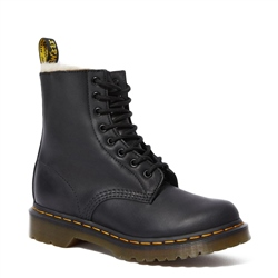 Dr Martens 1460 Serena Wyoming Boots - Black