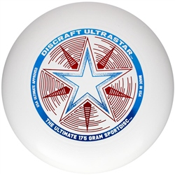 Discraft Ultrastar Sports Disc - White