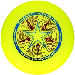 Discraft Ultrastar Sports Disc - Yellow