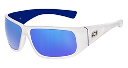 Dirty Dog Ultra Polarised Sunglasses - White & Blue