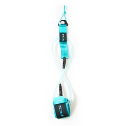FCS 6' Regular Leash - Blue