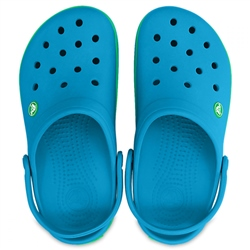Crocs Adult Crocband - Ocean & Green