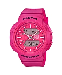 Casio Baby-G Watch - Pink & White