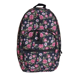 Vans Motiveatee Backpack - Black Flower