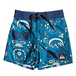 Quiksilver Mystery Bus Boardshort - Medieval