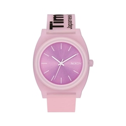 Nixon Time Teller P Watch - Invisible Pink