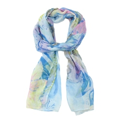 F & J Collection XS4300 Scarf - Turquoise