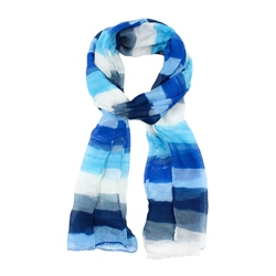 F & J Collection XS4301 Scarf - Blue