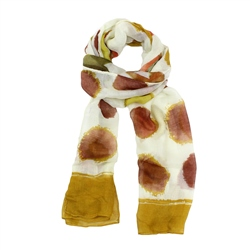 F & J Collection XS4303 Scarf - Orange