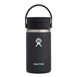 Hydro Flask Wide Mouth Coffee Flex Sip Lid 12oz Bottle - Black