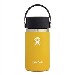 Hydro Flask Wide Mouth Coffee Flex Sip Lid 12oz Bottle - Sunflower