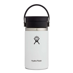 Hydro Flask Wide Mouth Coffee Flex Sip Lid 12oz Bottle - White