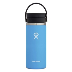 Hydro Flask Wide Mouth Coffee Flex Sip Lid 16oz Bottle - Pacific