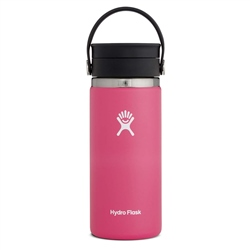 Hydro Flask Wide Mouth Coffee Flex Sip Lid 16oz Bottle - Watermelon