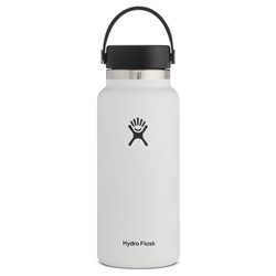 Hydro Flask Wide Mouth with Flex Cap 2.0 32oz Bottle - White