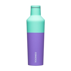 Corkcicle Colour Block 16oz Canteen - Mint Berry