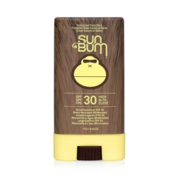 Sun Bum Original Sunscreen Face Stick SPF30 - Assorted