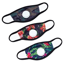 Hype Face Mask 3 Pack - Floral Camo