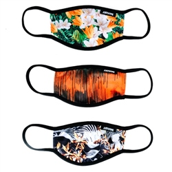 Hype Kids Face Mask 3 Pack - Floral