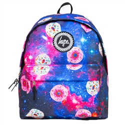 Hype Donut Galaxy 18L Backpack - Blue & Purple