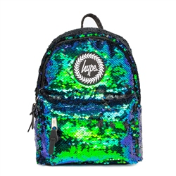 Hype Mermaid Sequin Mini 4L Backpack - Green & Blue