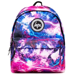 Hype Mystic Skies Backpack - Blue & Purple